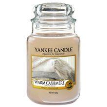 Yankee candle Svíčka ve skleněné dóze Yankee Candle Hřejivý kašmír, 623 g