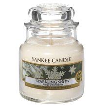 Yankee candle Svíčka ve skleněné dóze Yankee Candle Jiskrný sníh, 104 g