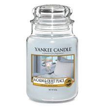 Yankee candle Svíčka ve skleněné dóze Yankee Candle Klidné a tiché místo, 623 g