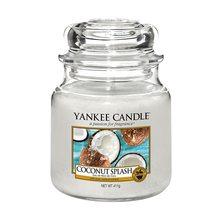 Yankee candle Svíčka ve skleněné dóze Yankee Candle Kokosové osvěžení, 410 g