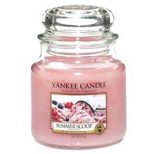 Yankee candle Svíčka ve skleněné dóze Yankee Candle Kopeček letní zmrzliny, 410 g