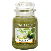 Yankee candle Svíčka ve skleněné dóze Yankee Candle Kubánské mojito, 623 g