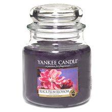 Yankee candle Svíčka ve skleněné dóze Yankee Candle Květ černé švestky, 410 g