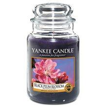 Yankee candle Svíčka ve skleněné dóze Yankee Candle Květ černé švestky, 623 g