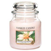 Yankee candle Svíčka ve skleněné dóze Yankee Candle Květ magnólie champaca, 410 g