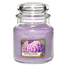 Yankee candle Svíčka ve skleněné dóze Yankee Candle Květ štěstí, 410 g