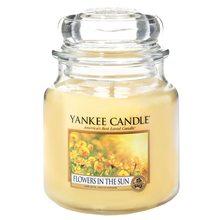 Yankee candle Svíčka ve skleněné dóze Yankee Candle Květiny na slunci, 410 g