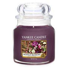 Yankee candle Svíčka ve skleněné dóze Yankee Candle Květiny ve svitu měsíce, 410 g