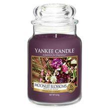 Yankee candle Svíčka ve skleněné dóze Yankee Candle Květiny ve svitu měsíce, 623 g