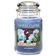 Yankee candle Svíčka ve skleněné dóze Yankee Candle Květy ze zahrádky, 623 g
