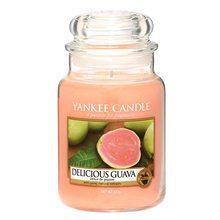 Yankee candle Svíčka ve skleněné dóze Yankee Candle Lahodná kvajáva, 623 g