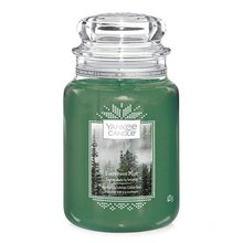 Yankee candle Svíčka ve skleněné dóze Yankee Candle Lesní mlha, 623 g
