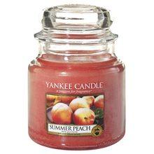 Yankee candle Svíčka ve skleněné dóze Yankee Candle Letní broskev, 410 g