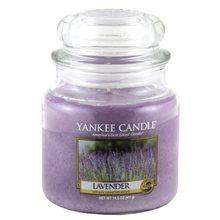 Yankee candle Svíčka ve skleněné dóze Yankee Candle Levandule, 410 g