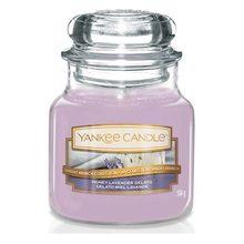 Yankee candle Svíčka ve skleněné dóze Yankee Candle Levandulová zmrzlina s medem, 104 g