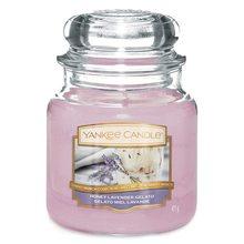 Yankee candle Svíčka ve skleněné dóze Yankee Candle Levandulová zmrzlina s medem, 410 g