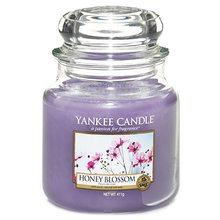 Yankee candle Svíčka ve skleněné dóze Yankee Candle Medový kvítek, 410 g