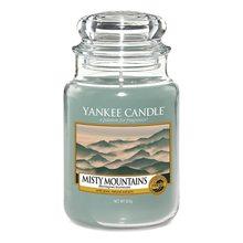 Yankee candle Svíčka ve skleněné dóze Yankee Candle Mlžné hory, 623 g