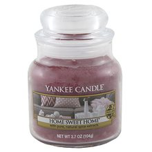Yankee candle Svíčka ve skleněné dóze Yankee Candle Ó sladký domove, 104 g