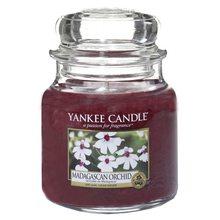 Yankee candle Svíčka ve skleněné dóze Yankee Candle Orchidej z Madagaskaru, 410 g