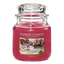 Yankee candle Svíčka ve skleněné dóze Yankee Candle Perník s polevou, 410 g