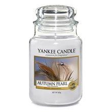 Yankee candle Svíčka ve skleněné dóze Yankee Candle Podzimní perla, 623 g