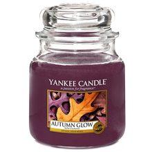 Yankee candle Svíčka ve skleněné dóze Yankee Candle Podzimní záře, 410 g
