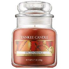 Yankee candle Svíčka ve skleněné dóze Yankee Candle Pomeranč se špetkou koření, 104 g