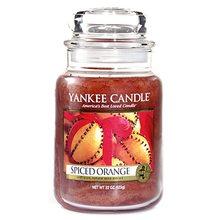 Yankee candle Svíčka ve skleněné dóze Yankee Candle Pomeranč se špetkou koření, 623 g