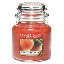 Yankee candle Svíčka ve skleněné dóze Yankee Candle Pomerančová šťáva, 410 g