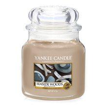 Yankee candle Svíčka ve skleněné dóze Yankee Candle Přímořská dřeva, 410 g