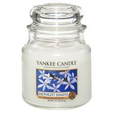 Yankee candle Svíčka ve skleněné dóze Yankee Candle Půlnoční jasmín, 410 g