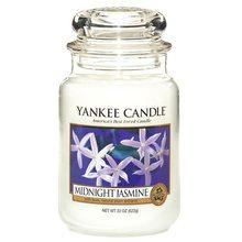 Yankee candle Svíčka ve skleněné dóze Yankee Candle Půlnoční jasmín, 623 g