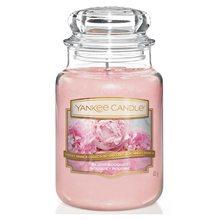 Yankee candle Svíčka ve skleněné dóze Yankee Candle Růžová kytice, 623 g