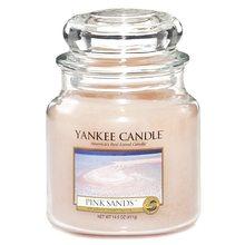 Yankee candle Svíčka ve skleněné dóze Yankee Candle Růžové písky, 410 g