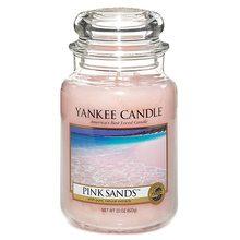 Yankee candle Svíčka ve skleněné dóze Yankee Candle Růžové písky, 623 g
