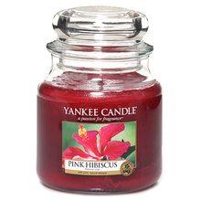 Yankee candle Svíčka ve skleněné dóze Yankee Candle Růžový ibišek, 410 g