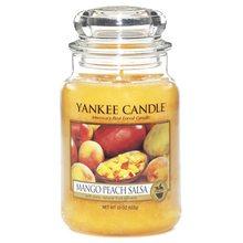 Yankee candle Svíčka ve skleněné dóze Yankee Candle Salza z manga a broskví, 623 g