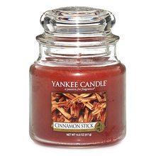 Yankee candle Svíčka ve skleněné dóze Yankee Candle Skořicová tyčinka, 410 g