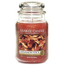 Yankee candle Svíčka ve skleněné dóze Yankee Candle Skořicová tyčinka, 623 g