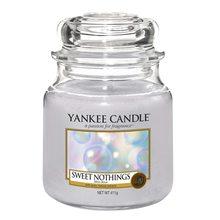 Yankee candle Svíčka ve skleněné dóze Yankee Candle Sladké nic, 410 g