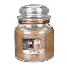 Yankee candle Svíčka ve skleněné dóze Yankee Candle Sladký javorový chai, 410 g