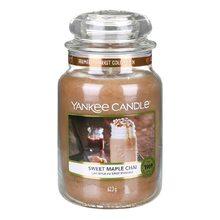 Yankee candle Svíčka ve skleněné dóze Yankee Candle Sladký javorový chai, 623 g