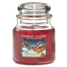 Yankee candle Svíčka ve skleněné dóze Yankee Candle Štědrý večer, 410 g