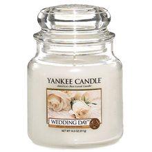 Yankee candle Svíčka ve skleněné dóze Yankee Candle Svatební den, 410 g