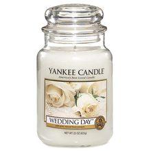 Yankee candle Svíčka ve skleněné dóze Yankee Candle Svatební den, 623 g