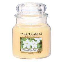 Yankee candle Svíčka ve skleněné dóze Yankee Candle Tobákový květ, 410 g
