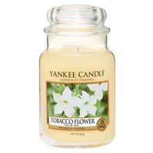 Yankee candle Svíčka ve skleněné dóze Yankee Candle Tobákový květ, 623 g