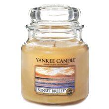 Yankee candle Svíčka ve skleněné dóze Yankee Candle Vánek při západu slunce, 410 g