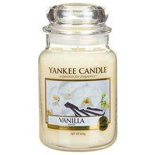 Yankee candle Svíčka ve skleněné dóze Yankee Candle Vanilka, 623 g